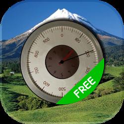 無料の正確な高度計
